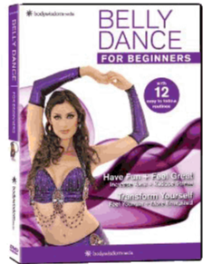 DVD Belly Dance Video Cover